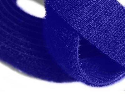 Back-to-Back Haak en Lus Rol 16mm Blauw 3mtr rol klittenband klitteband klitterband