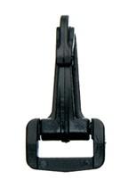 Musketonhaak 20mm zwart 10st
