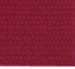 Katoenen Band Donker Rood Bordeaux 30mm