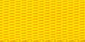 Polypropyleen Webbing 20mm Geel 25m