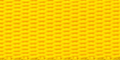 Polypropyleen Webbing 30mm Geel 25m