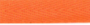 Keperband Katoen Oranje 10mm