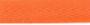 Keperband Katoen Oranje 20mm